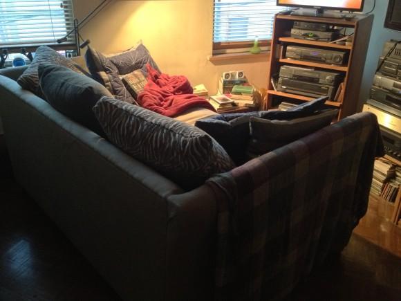 Mr. W's inner sanctum